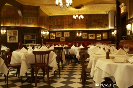 You might spot a celebrity dining at Minetta Tavern in New York