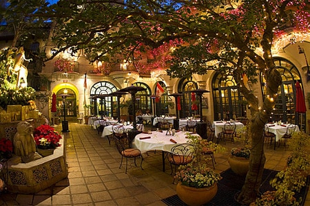 Dining Room at Mission Inn Restaurant, Riverside, CA