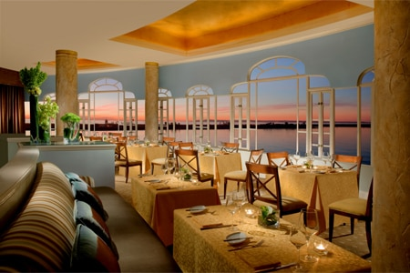 Dining Room at Mistral, Coronado, CA