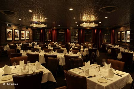 Moishes is one of GAYOT's Best Steakhouses in Montreal