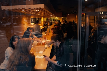 Dining Room at Momofuku Noodle Bar, New York, NY