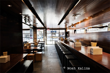 Dining room at Momofuku Ssam Bar, New York, NY