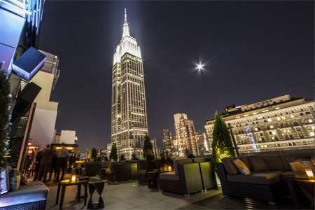 Monarch Rooftop Lounge, New York, NY