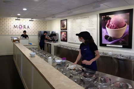 Mora Iced Creamery is one of the Top 10 Ice Cream Shops in the United States