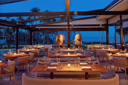 Dining room at Morimoto Maui, Wailea, HI