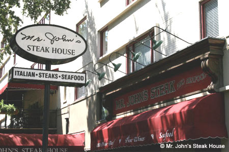 Mr. John's Steak House, New Orleans, LA