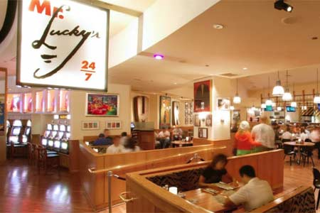 Mr. Lucky's 24/7, one of GAYOT's Top 10 24-Hour Restaurants in Las Vegas