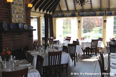 Mrs. K's Restaurant & Wine Bar, Silver Spring, MD