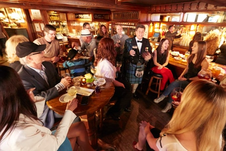Muldoon's Dublin Pub & Celtic Bar in Newport Beach is one of the best places to celebrate St. Patrick's Day in California's OC