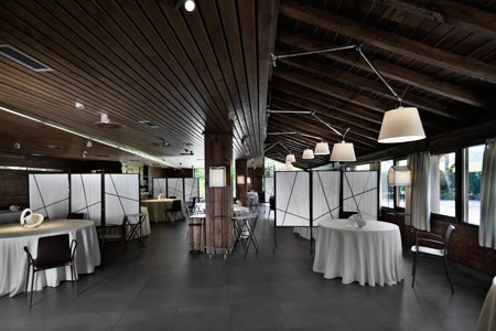Dining room at Mugaritz, Errenteria, spain