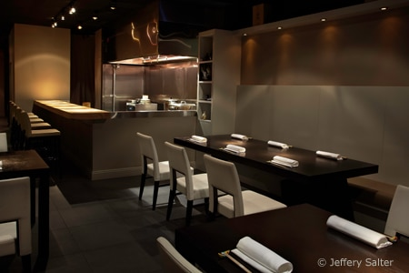 Dining Room at NAOE, Miami, FL