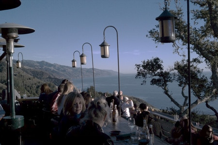Dining room at Nepenthe, Big Sur, CA