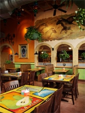 Dining room at Nicha's Comida Mexicana, San Antonio, TX