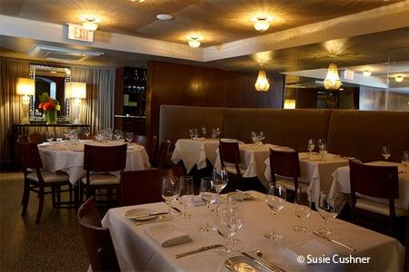 Enjoy a romantic dinner at No. 9 Park