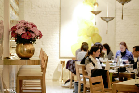 Nopi, one of GAYOT's Best Heart-Healthy Restaurants in London