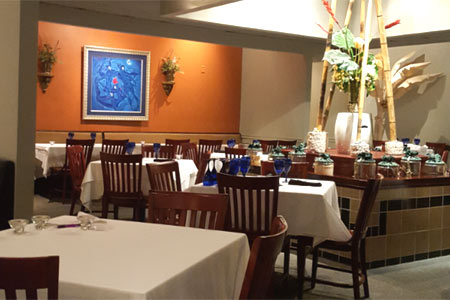 Dining Room at Northlake Thai Cuisine, Tucker, GA