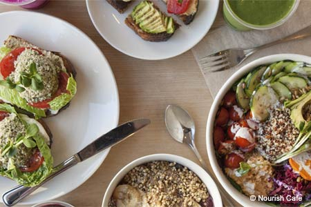 Nourish Cafe serves some of the best vegan food in San Francisco
