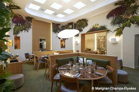Dining Room at Nubé, Paris,