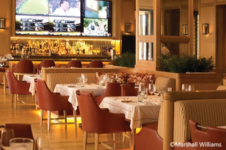 Dining room at Oak Grill, Newport Beach, CA