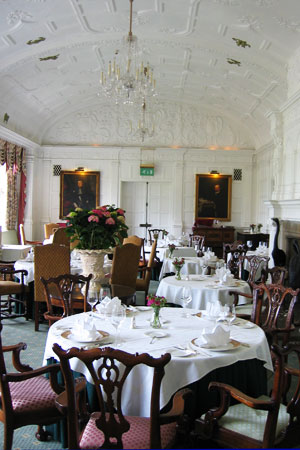 Dining Room at Oakes Grill, Hertfordshire,