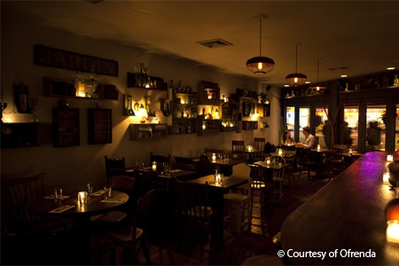 Dining Room at Ofrenda, New York, NY