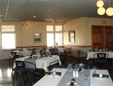 Dining room at OGAN Restaurant, Green Bay, WI