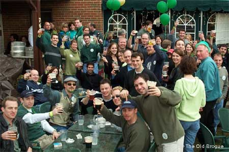 The Old Brogue, an Irish Pub in Great Falls is one of the best places to celebrate St. Patrick's Day in Virginia