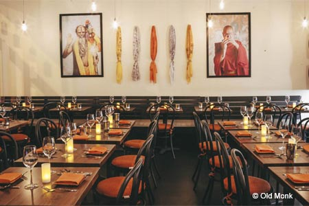 Modern Indian restaurant Old Monk has opened in New York