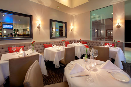 Dining Room at On Rodeo Bistro & Lounge, Beverly Hills, CA