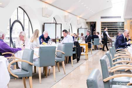 Dining Room at Orrery, London,