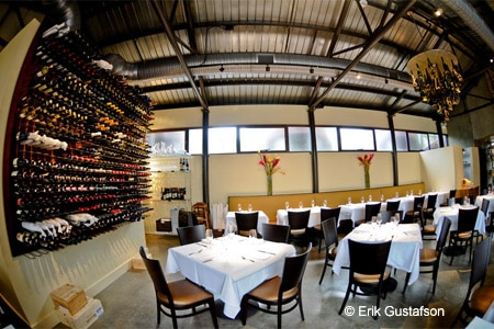 One of GAYOT's Top Wine Lists in San Antonio, Osteria Il Sogno boasts many Italian offerings