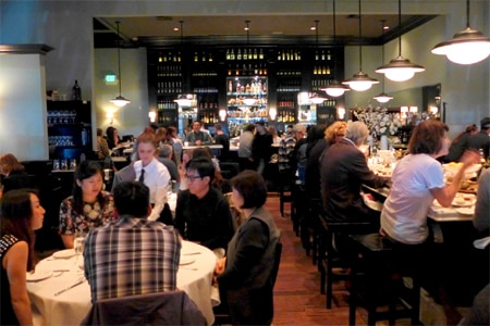 Dining Room at Osteria Mozza, Los Angeles, CA