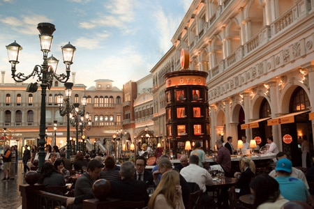 Otto Enoteca Pizzeria at The Venetian will celebrate its ninth birthday on April 25