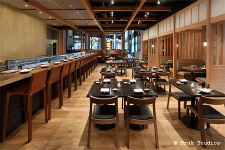 Dining Room at Pabu, San Francisco, CA