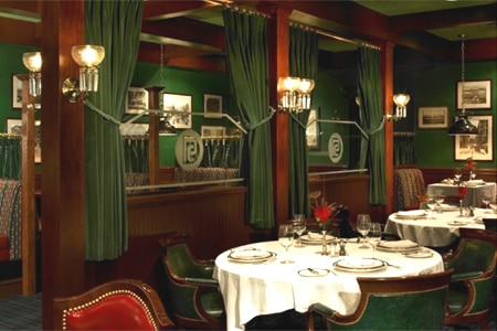 Dining room at Pacific Dining Car, Los Angeles, CA