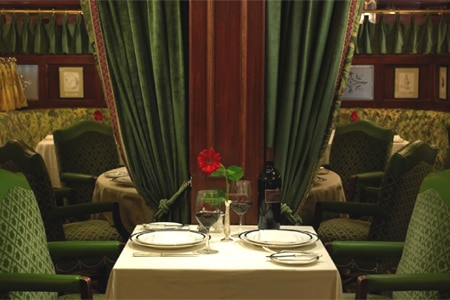 Dining room at Pacific Dining Car, Santa Monica, CA
