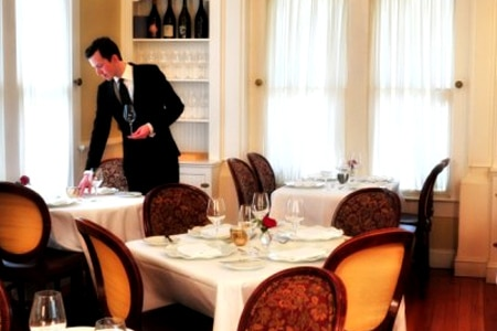 The Painted Lady Restaurant offers a romantic setting for a special dinner in Portland, Oregon
