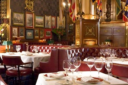 Dining Room at Palace Arms, Denver, CO