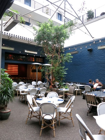 THIS RESTAURANT HAS CHANGED NAMES Palihouse Courtyard Brasserie, West Hollywood, CA