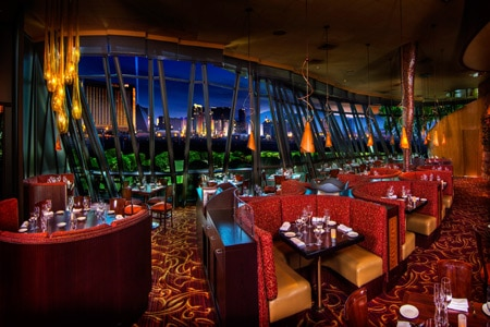 Celebrate New Year's Eve with a view of the Las Vegas Strip at Panevino Italian Grille