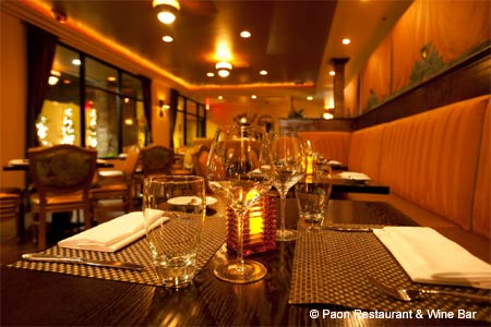 Paon Restaurant & Wine Bar, Carlsbad, CA