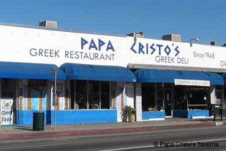 Papa Cristo's Taverna, Los Angeles, CA
