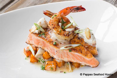 Pappas Seafood House, Houston, TX