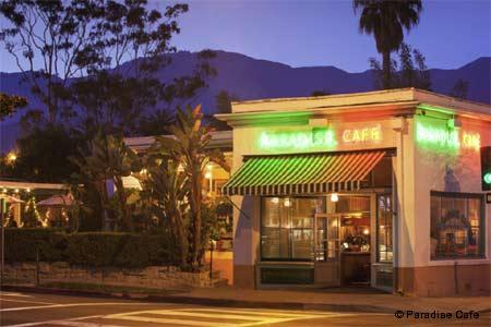 Dining Room at Paradise Cafe, Santa Barbara, CA