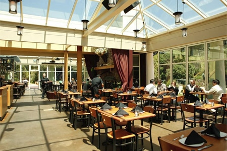 Bring the kids along for a meal at Park Chalet in San Francisco's Golden Gate Park