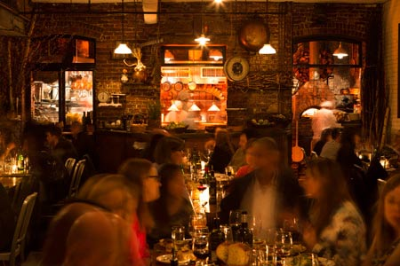 New York wine bar Peasant features an almost completely Italian wine list