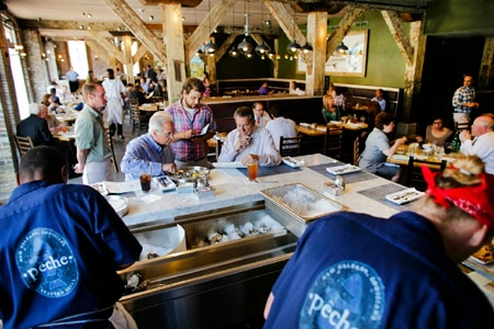 Dining Room at Pêche Seafood Grill, New Orleans, LA