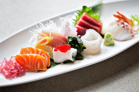 Perrys in Washington DC presents unusual Japanese sushi