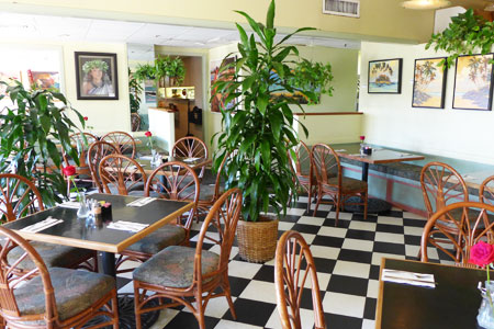 Dining Room at Cafe Pesto, Kawaihae, HI