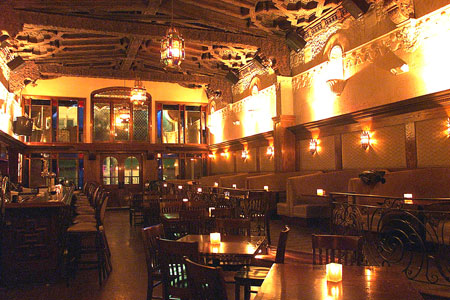 Dining Room at Pig 'n Whistle, Los Angeles, CA
